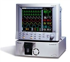 Patient monitor and gas analyzer