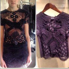 .@inuibutik | #augustinteboul #2014winter #handmade#crochet #top#fashion #unique #style #pa... | Webstagram - the best Instagram viewer