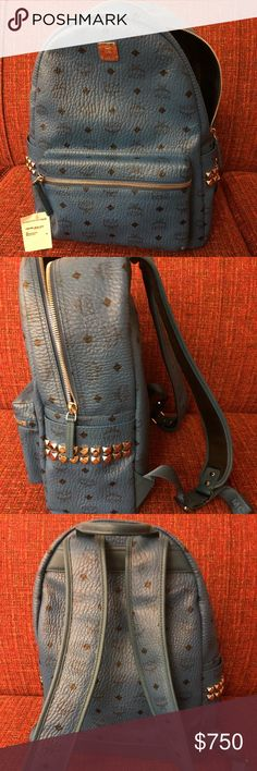 New with tags MCM backpack NWT MCM backpack. Tags still attached. Posh will authenticate before for you for free. Price is firm, no offer accepted. MCM Bags Backpacks