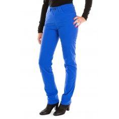 Pantalon bleu électrique, un peu de peps dans vos tenues. Flamenzo, la marque qui habille les grandes