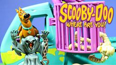New Scooby-Doo Mystery Machine Trap Time Playset Unboxing (Parody)Hanna-...