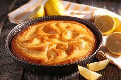 Torta variegata al limone