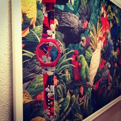 Swatch MISTER PARROT ©remembermerella
