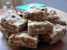 Jablkové řezy mé babičky (samá jablka, SUPER!!!) Pavlova, Something Sweet, Apple Pie, Macarons, Sweet Recipes, Ham, Cookie Recipes, Cheesecake, Food And Drink