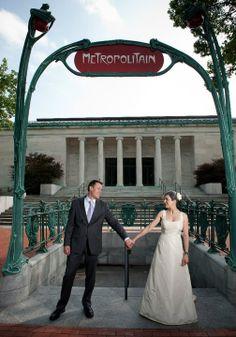 Toledo Museum of Art wedding