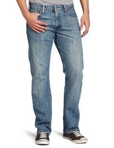 23d19f12977 #Levi's #Men's 505 Straight Fit Light Weight Trouser #Jean these are light-