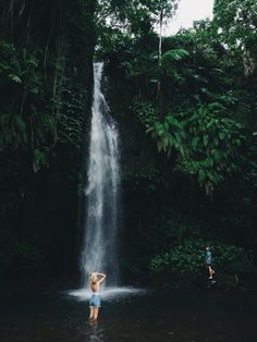 Chasing waterfalls - Lombok.