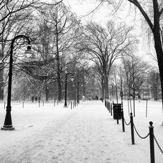 Penn State in winter