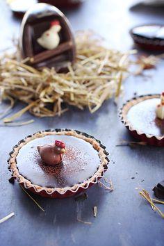 Les recettes - Tartelettes au chocolat et aux agrumes.