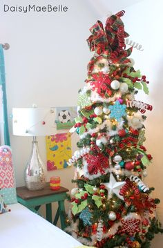 Bright Christmas Decorations Tree Ideas Projects Inspiration