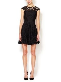 Lace Fit and Flare Dress by The Letter on sale now on Gilt.