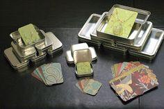 Altoid Tins to Gift Card Boxes
