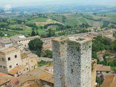 San #Gimignano, la ciudad de las torres en la #Toscana (#Italia).