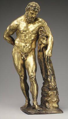 Hercules Farnese  Pietro da Barga (Pietro Simoni)  (active 1574–88)  Date: ca. 1576 Culture: Italian (Florence) Medium: Bronze, gilt