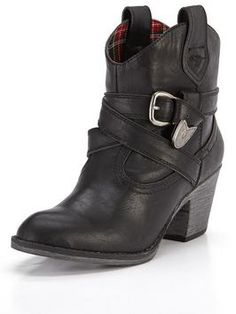 Rocket Dog Satire Western Ankle Boots | very.co.uk