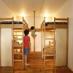 すくすくとたくましい男の子が育つ『子供部屋』みせます!