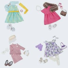 Our Generation Deluxe Retro Classy Chic Outfits   eBay http://fave.co/2cyCZUG