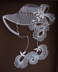 Bruges Lace, Human Figures, Lace Heart, Lace Jewelry, Bobbin Lace, Hobbit, Lace Detail, Crochet Necklace, Butterfly