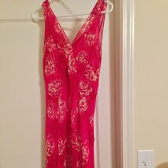 Ann Taylor Sleeveless Dress, size 10 Ann Taylor sleeveless dress. Size 10. Comes with pink slip lining. Sophisticated and flattering cut. Lovely pink and cream floral print. Always dry cleaned, very well cared for. Looks brand new!! Check out my other Ann Taylor and LOFT listings - I offer bundle discounts!! Ann Taylor Dresses