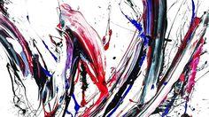 """坂井直樹の""""デザインの深読み"""": 多色の絵具の筆跡を貼り合わせる「カット&ペースト」という独自の手法と色彩感覚を持つ現代アーティスト山口歴(めぐる)。久しぶりに興味深いアーティストの登場だ。"""