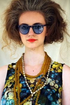 chris benz (colored sunglasses)