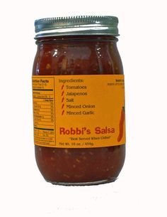 Robbi's Salsa Mild - clean flavors. sure to be a favorite!