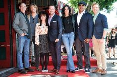 Daniela Ruah Fans » » 'NCIS: LA' Actor Chris O'Donnell Honored With Star On Walk Of Fame – March 5th 2015 (Photos+Videos)