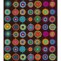 Marimekko fabrics of all kinds. Over 300 Marimekko fabrics from top retailer. Design Textile, Textile Patterns, Fabric Design, Print Patterns, Textiles, Surface Pattern Design, Pattern Art, Colour Pattern, Marimekko Fabric