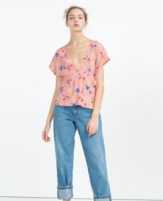 V-NECK TOP-TOPS-SALE-WOMAN | ZARA United States