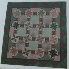 """AN OLD FASHIONED CHRISTMAS"" QUILT KIT Judie Rothermel for Marcus Fabrics"