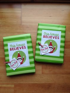 Elf on the shelf wrapping