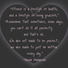 love this fitness quote