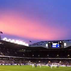 White Hart Lane- home of Tottenham Hotspur Football Club