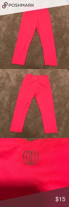 Marika Bright Pink Leggings Purchased these bright pink leggings, wore them once, then never wore them again. Marika Pants Leggings