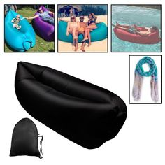 Inflatable Beach Lounger *** Details can be found by clicking on the image.