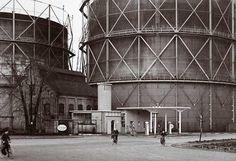Gasfabriek Hilversum  Compressorstation aan de Jan van der Heijdenstraat