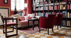 A Rome living room