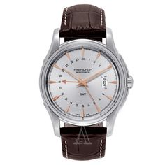 BRAND-NEW-Hamilton-Jazzmaster-GMT-Mens-Watch-H32585557-FREE-EXPEDITED-SHIPPING