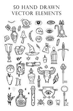 Tattoos Motive, Bild Tattoos, Tatoos, Kritzelei Tattoo, Doodle Tattoo, Mini Drawings, Doodle Drawings, Small Drawings, Doodle Art