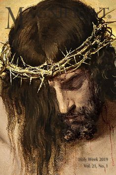 Magnificat meets every need of your spiritual life. A way to more profound love of Christ. Images Du Christ, Pictures Of Jesus Christ, Jesus Face, God Jesus, La Passion Du Christ, Jesus Christ Painting, Jesus Drawings, Image Jesus, Jesus Tattoo