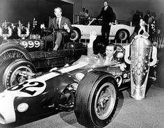 1965  indy lotus ,Jim Clark & Colin Chapman