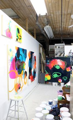 Art studio     Tania Girard Savoie