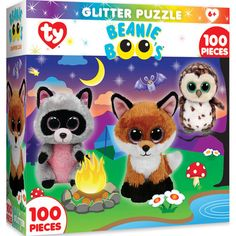f65e9be8d49 Ty Beanie Boo Campfire Club - 100 Piece Glitter Kids Puzzle