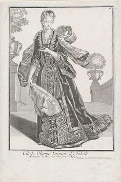 Anonymous | Portret van Henriëtte Amalia van Anhalt-Dessau, Anonymous, Joan de Lat, Staten van Holland en West-Friesland, 1724 - 1751 | Portret van Henriëtte Amalia van Anhalt-Dessau. In de ondermarge haar naam en titels. Rechtsboven '92'.