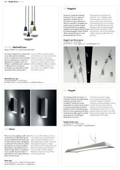 Ciulifruli lamp on ARCA magazine http://www.martinelliluce.it/prodotti/product/504