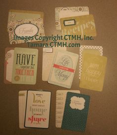 Picture My Life Avonlea 4x6 cards (2 each of 22 designs), Close To My Heart, CTMH, pocket scrapbooking