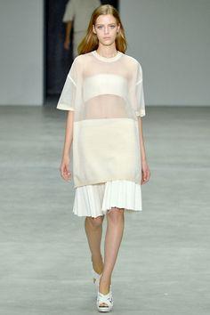 Esther Heesch at Calvin Klein Spring/Summer 2014 | NYFW