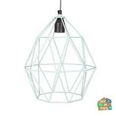 Kidsdepot hanglamp Wire mint | Lief en Klein
