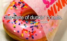 yes..thts my fave donut 2! strawberry pink iced with sprinkles!! :)