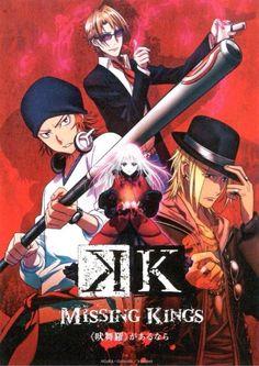 「K」- Missing Kings - K Movie - K Project - K Anime. Kusanagi Izumo, Yata Misaki, Kushina Anna, Kamamoto Rikio - HOMRA (the Reds)
